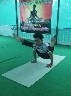 Upander yoga teacher Dehradun